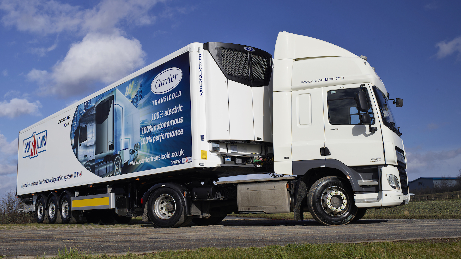 Carrier Transicold & G&A Vector ECool Demonstrator