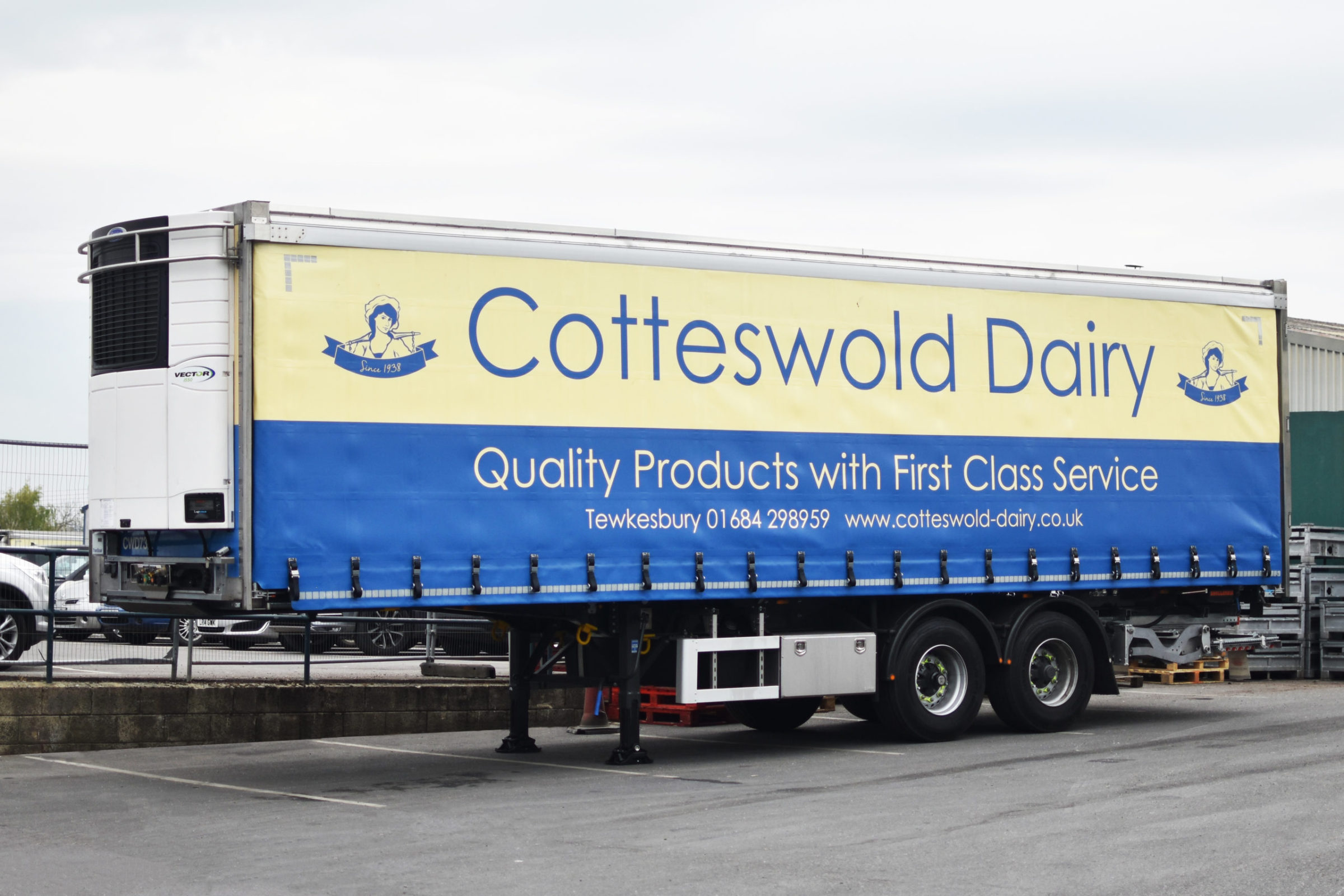 Cotteswold Dairy Curtainsider
